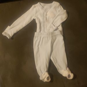 Newborn 2 piece sleeper set